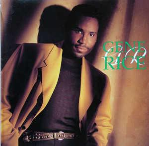 Album  Cover Gene Rice - Gene Rice on RCA Records from 1993