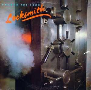 Front Cover Album Locksmith - Unlock The Funk
