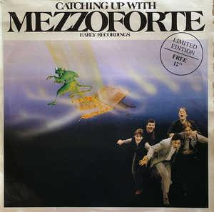 Front Cover Album Mezzoforte - Catching Up With Mezzoforte