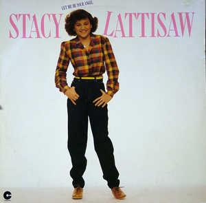 Album  Cover Stacy Lattisaw - Let Me Be Your Angel on COTILLION Records from 1980