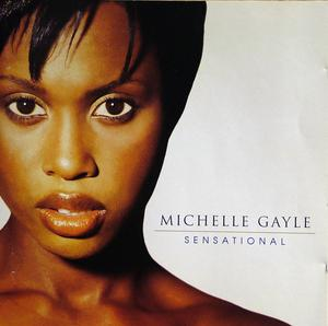 Front Cover Album Michelle Gayle - Sensational