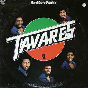 Front Cover Album Tavares - Hard Core Poetry