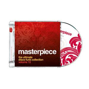 Album  Cover Various Artists - Masterpiece - The Ultimate Disco Funk Collection Vol. 13 on PTG Records from 2012