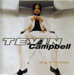 Album  Cover Tevin Campbell - Back To The World on WARNER BROS. Records from 1996