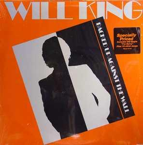 Album  Cover Will King - Backed Up Against The Wall on TOTAL EXPERIENCE (RCA) Records from 1985