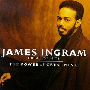 Front Cover Album James Ingram - The Power Of Great Music