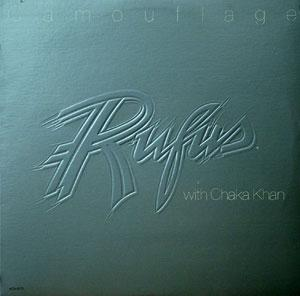 Album  Cover Rufus & Chaka Khan - Camouflage on MCA Records from 1981