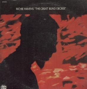 Album  Cover Richie Havens - The Great Blind Degree on STORMY FOREST , MGM Records from 1971