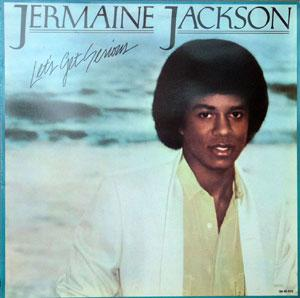 Album  Cover Jermaine Jackson - Let's Get Serious on MOTOWN Records from 1979