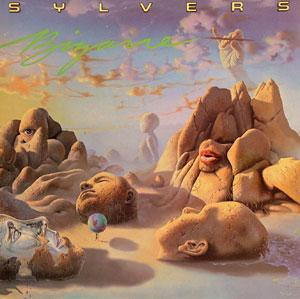 Album  Cover Sylvers - Bizarre on GEFFEN Records from 1984