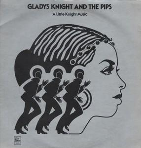 Front Cover Album Gladys Knight & The Pips - A Little Knight Music