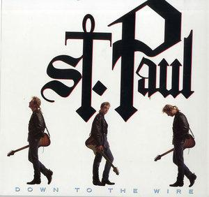 Album  Cover St. Paul - Down To The Wire on ATLANTIC Records from 1990