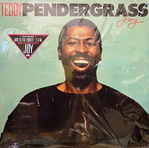 Front Cover Album Teddy Pendergrass - Joy