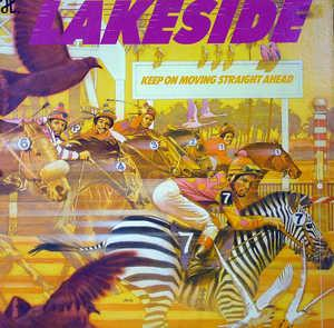 Front Cover Album Lakeside - Keep On Moving Straight Ahead