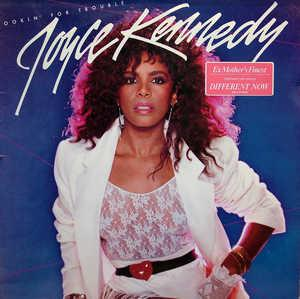 Album  Cover Joyce Kennedy - Lookin' For Trouble on A&M Records from 1984