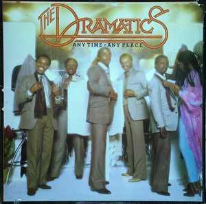 Front Cover Album The Dramatics - Anytime Anyplace
