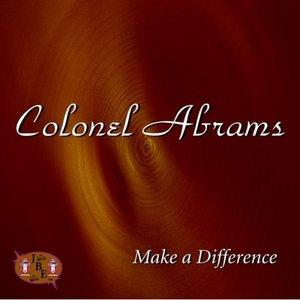 Album  Cover Colonel Abrams - Make A Difference on MAGIC USA Records from 1996