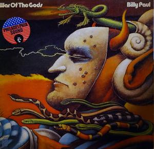 Album  Cover Billy Paul - War Of The Gods on PHILADELPHIA INTERNATIONAL Records from 1973