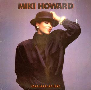 Album  Cover Miki Howard - Come Share My Love on ATLANTIC Records from 1986