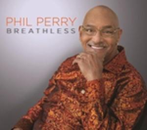 Front Cover Album Phil Perry - Breathless