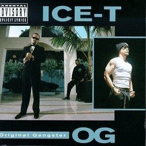 Album  Cover Ice-t - Original Gangster Og on SIRE (WARNER BROS) Records from 1991