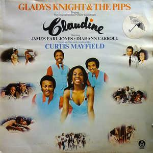 Album  Cover Gladys Knight & The Pips - Claudine (ost) on BUDDAH Records from 1974