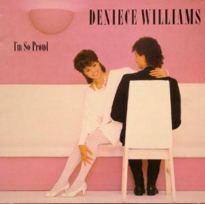 Album  Cover Deniece Williams - I'm So Proud on COLUMBIA Records from 1983