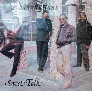 Album  Cover The Manhattans - Sweet Talk on VALLEY VUE Records from 1989