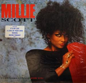 Album  Cover Millie Scott - I Can Make It Good For You on ISLAND Records from 1988