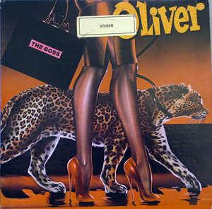 Album  Cover Oliver Cheatham - The Boss on MCA Records from 1982