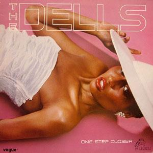 Album  Cover The Dells - One Step Closer on VOGUE Records from 1984
