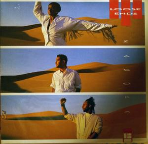 Album  Cover Loose Ends - Zagora on MCA Records from 1986