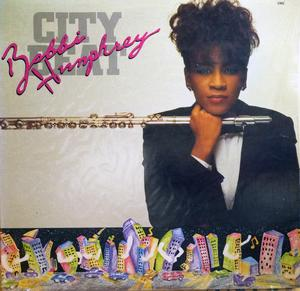 Album  Cover Bobbi Humphrey - City Beat on MALACO JAZZ Records from 1988
