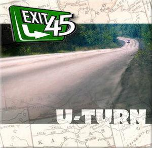 Album  Cover Exit 45 - U-turn on RTRW Records from 2002