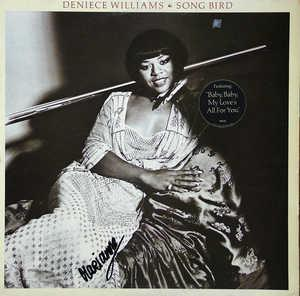 Front Cover Album Deniece Williams - Song Bird