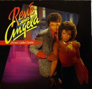 Album  Cover René And Angela - Street Called Desire on MERCURY Records from 1985