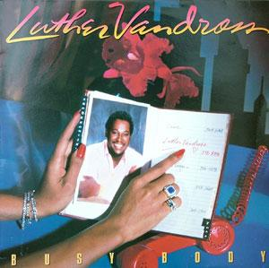 Album  Cover Luther Vandross - Busy Body on EPIC Records from 1983