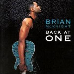 Front Cover Album Brian Mcknight - Back At One