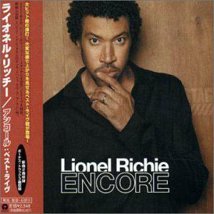 Album  Cover Lionel Richie - Encore on ISLAND / DEF JAM Records from 2002
