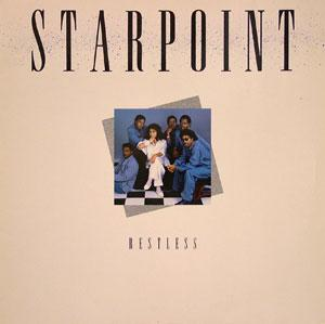 Album  Cover Starpoint - Restless on ELEKTRA Records from 1985