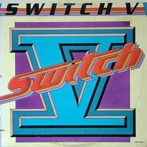 Album  Cover Switch - Switch V on GORDY Records from 1981