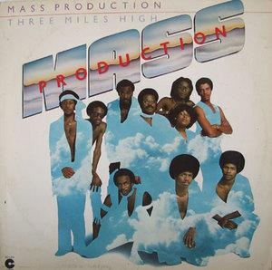 Album  Cover Mass Production - Three Miles High on COTILLION Records from 1978