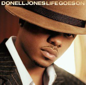 Album  Cover Donell Jones - Life Goes On on LA FACE Records from 2002