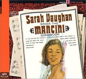 Album  Cover Sarah Vaughan - The Mancini Songbook on MERCURY Records from 1985