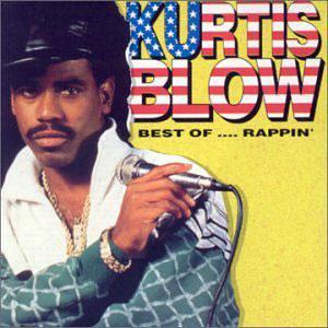 Album  Cover Kurtis Blow - Best Of....rappin' on MERCURY Records from 1990