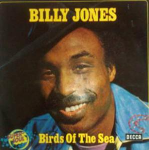 Album  Cover Billy Jones - Birds Of The Sea on DECCA Records from 1975