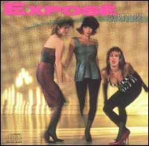 Album  Cover Expose - Exposure on ARISTA Records from 1987