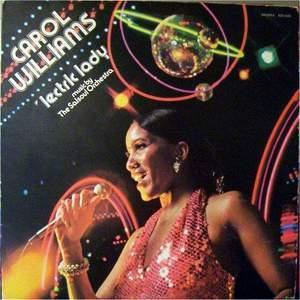 Album  Cover Carol Williams - 'lectric Lady on SALSOUL Records from 1976