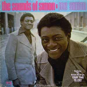 Album  Cover Joe Simon - The Sounds Of Simon on SPRING Records from 1971