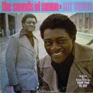 Album  Cover Joe Simon - The Sounds Of Simon on SPRING Records from 1971
